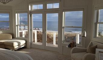 Ocean view windows and doors
