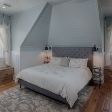 Beach Style Bedroom by Herlong and Associates Interiors