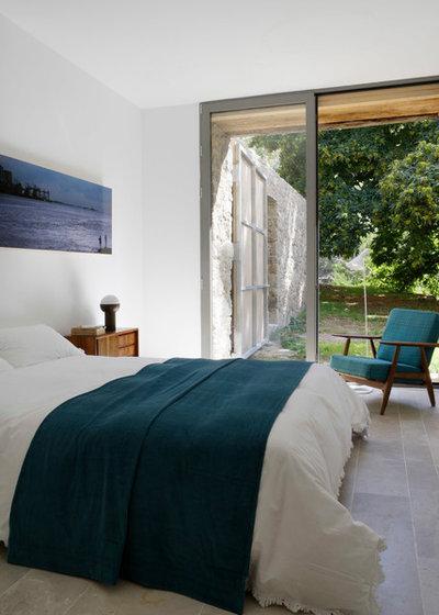 Casa de campo Dormitorio by ÁBATON
