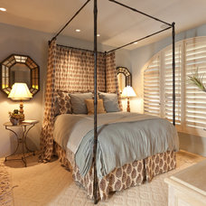 Eclectic Bedroom by Denise Morrison Interiors