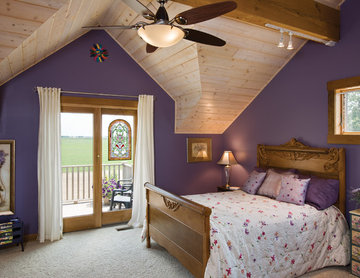 Ohio Timber Frame Home - Bedroom