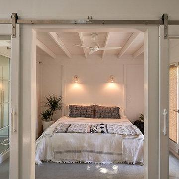 Ojai Modern Garage Conversion into Guesthouse/ ADU
