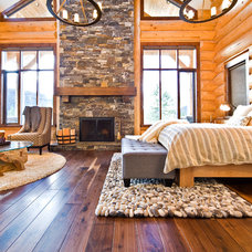 Eclectic Bedroom by Sticks and Stones Design Group Inc