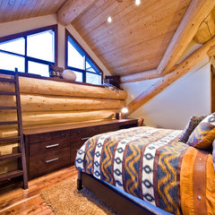 traditional bedroom by Sticks and Stones Design Group Inc