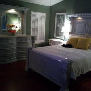 Elegant bedroom photo in Los Angeles