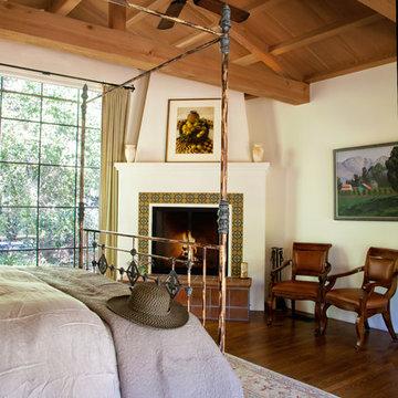 Old California Master Bedroom