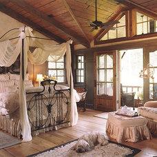 Rustic Bedroom by Denman Construction