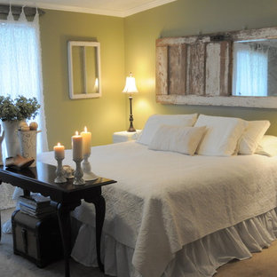 Example of an eclectic bedroom design in New Orleans