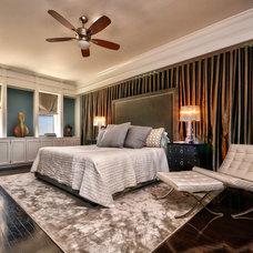 Contemporary Bedroom by Casa Nova Design Group