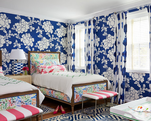 Top 20 Blue Bedroom Ideas & Remodeling Photos | Houzz