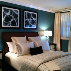 Contemporary Bedroom by VC Design