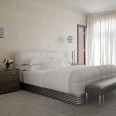 Contemporary Bedroom by Cara Zolot Interiors Ltd.