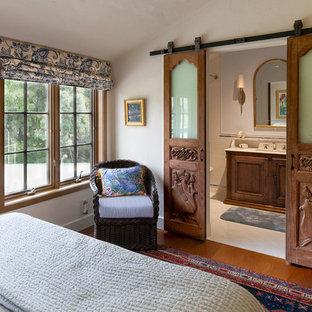 Design ideas for a mediterranean bedroom in Los Angeles.