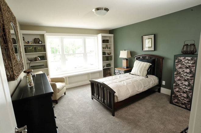 Contemporary Bedroom by Weaver Custom Homes