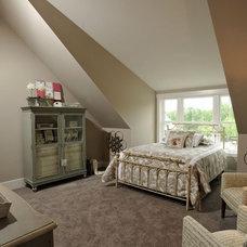 Modern Bedroom by Weaver Custom Homes