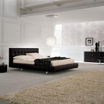Omega Modern Bed by Presotto Italia