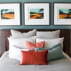Transitional Bedroom by Awaken Interiors