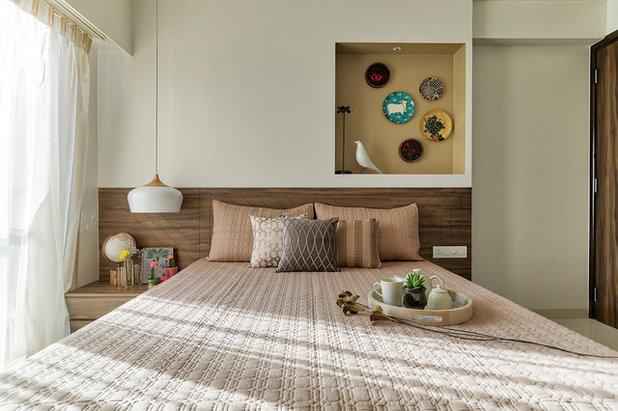 コンテンポラリー 寝室 by ZERO9