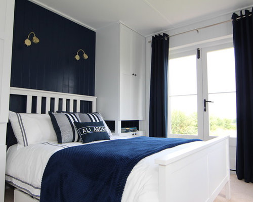 Navy Bedroom Design Ideas Amp Remodel Pictures Houzz