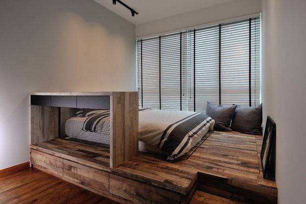 Industrial Bedroom by Aart Boxx Interior
