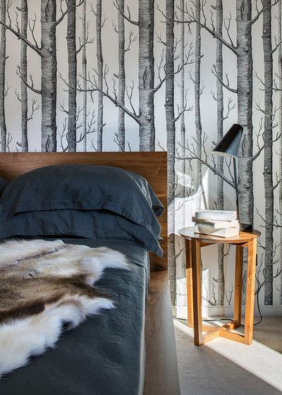 Contemporary Sovrum by D'Cruz Design Group Sydney Interior Designers