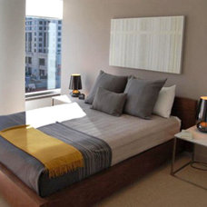 Modern Bedroom by W. David Seidel, AIA - Architect