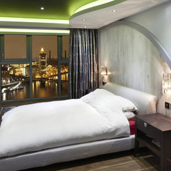 contemporary bedroom by one-world design