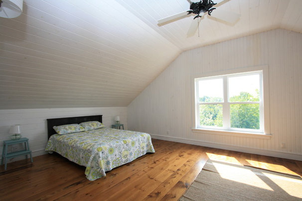 Beach Style Bedroom by White Pine Lumber