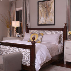 Contemporary Bedroom by Nandina Home & Design