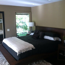 Contemporary Bedroom by Elements by K Sorbe