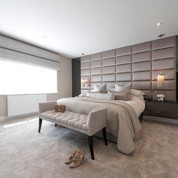Opulent Elegant Master Bedroom