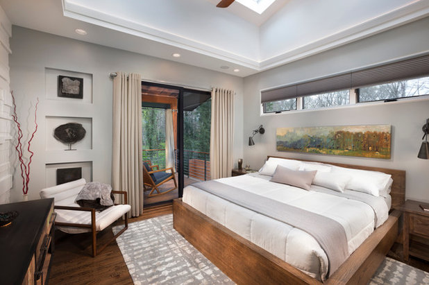 Contemporary Bedroom by Living Stone Design + Build