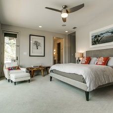 Farmhouse Bedroom by Olsen Studios
