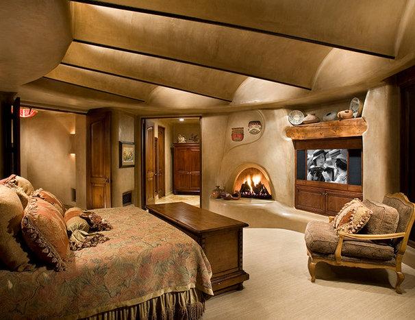 Southwestern Bedroom by Urban Design Associates