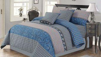 Oriental Blue Duvet Cover Set