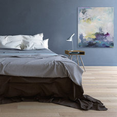 Modern Bedroom by Julia Contacessi Fine Art