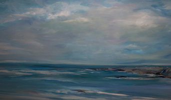 Original Seascape Large Canvas Painting by Sheri Wilson