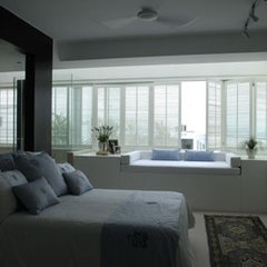 contemporary bedroom by Original Vision Limited