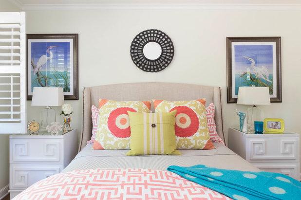 Eklektisk Soveværelse by Leslie Harris-Keane Interior Design