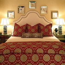 Contemporary Bedroom by Lucas Patton Design