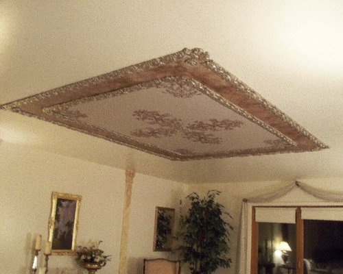 Ornamental Plaster Mold Decorating Victorian Ceilings And - ceiling stencils for walls designs