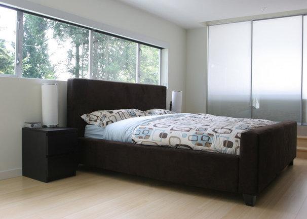 Contemporary Bedroom by Portal Design Inc