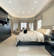 contemporary bedroom by Gorgeous Homes, Inc