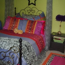 Eclectic Bedroom by Our Creative Life/Creative Carpet Design