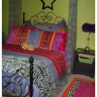 Bedroom - eclectic bedroom idea in Little Rock