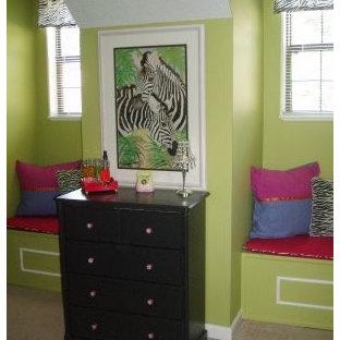 Example of an eclectic bedroom design in Little Rock