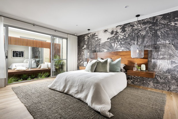 Contemporary Bedroom by Dale Alcock Homes