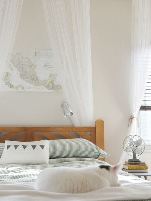 Curtain Headboard Home Design Ideas, Pictures, Remodel and Decor