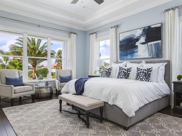 Современная классика Спальня by Element Home Builders