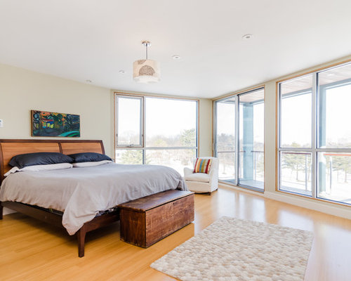 Light Wood Floor Bedroom Ideas And Photos | Houzz